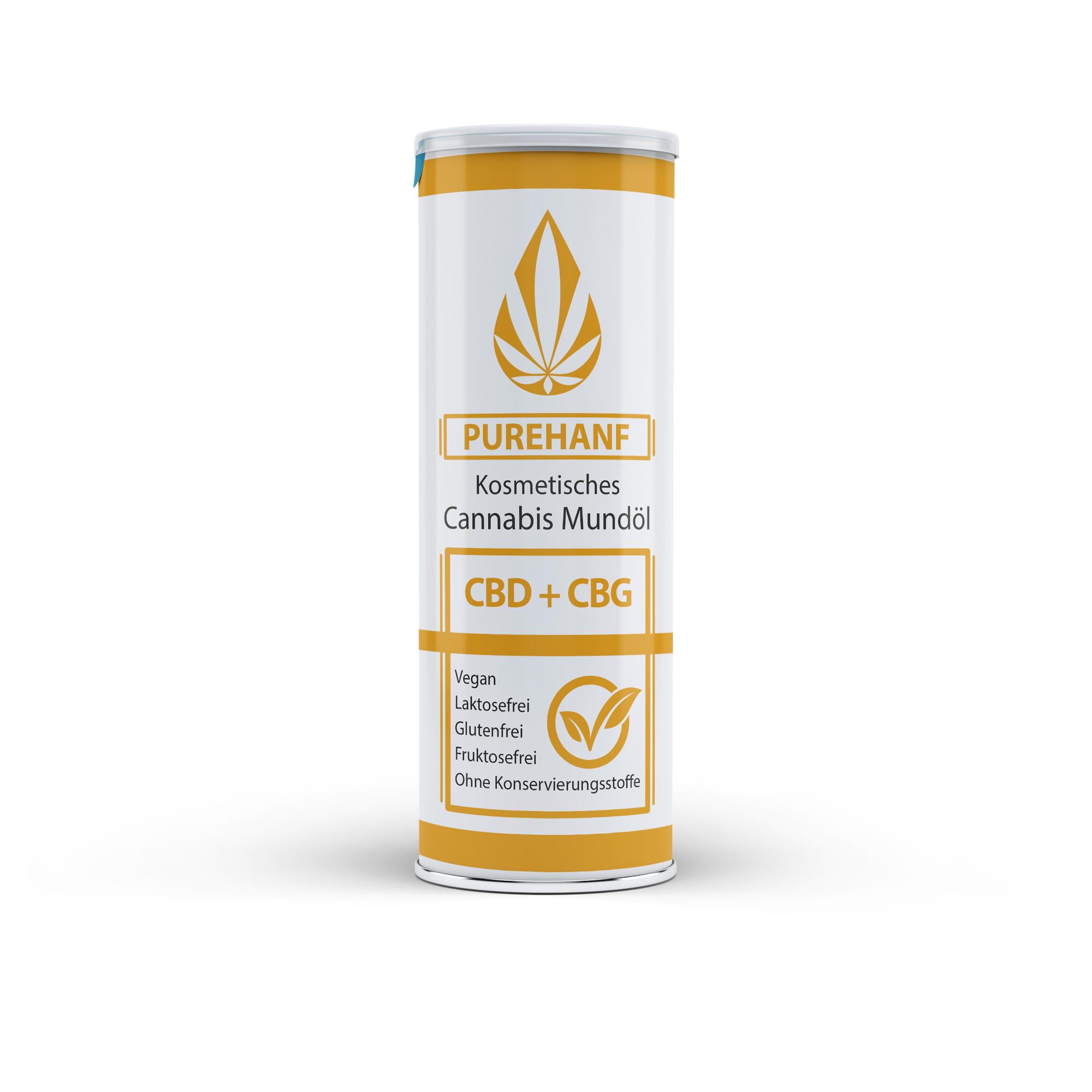PUREHANF CBG Tropfen 5% CBG Öl