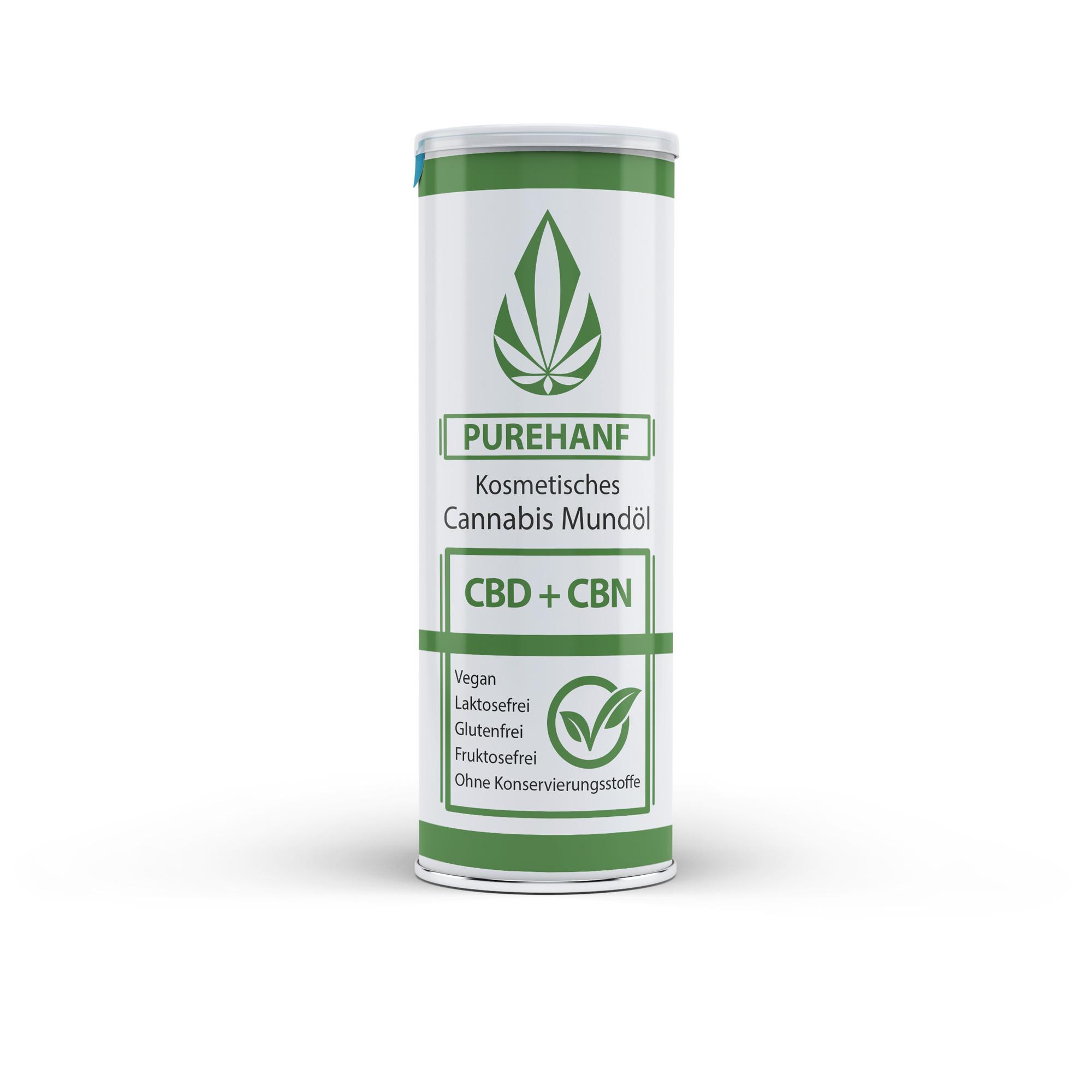 CBN Öl von PUREHANF - 100% Natürlich