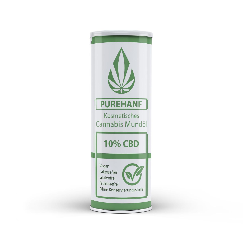 CBD Öl mit 10% - PUREHANF - Kosmetisches Cannabis Öl