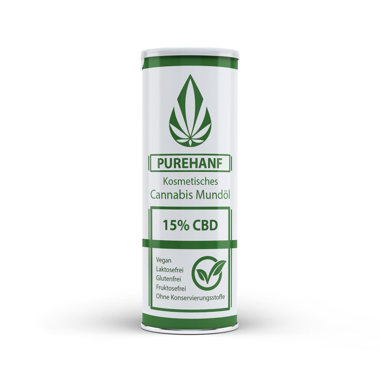 CBD Öl mit 15% - PUREHANF - Kosmetisches Cannabis Öl