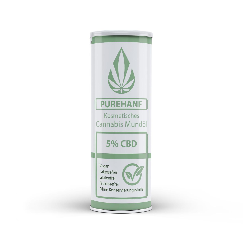 CBD Öl mit 5% - PUREHANF - Kosmetisches Cannabis Öl