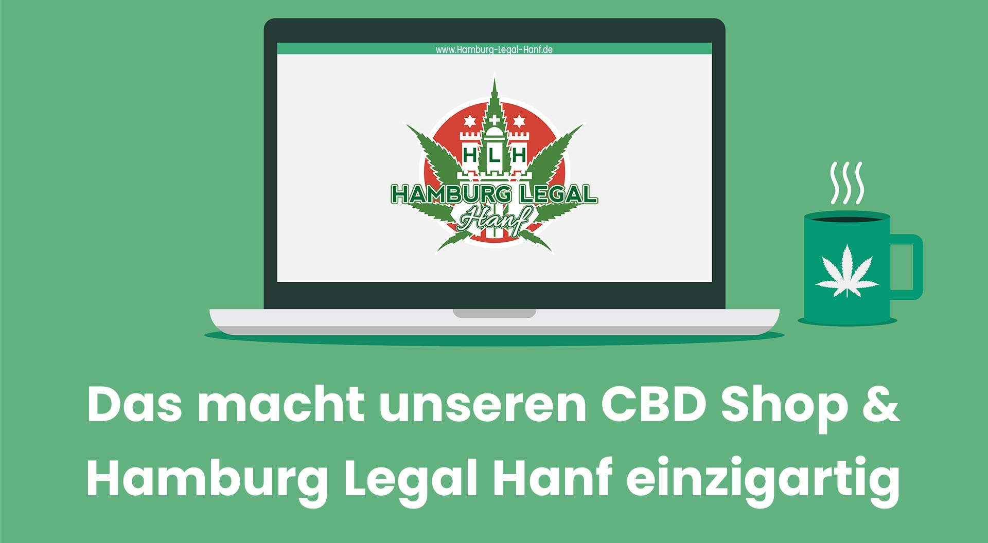 CBD Shop Hamburg-Legal-Hanf serös
